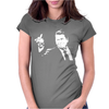 Ronald Reagan Flipping Womens Fitted T-Shirt