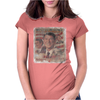 Ronald Reagan GeorgeBushSr Election Womens Fitted T-Shirt