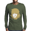Ronnie Wood Stones Rocker Faces Retro Mens Long Sleeve T-Shirt