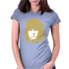 Ronnie Wood Stones Rocker Faces Retro Womens Fitted T-Shirt