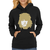 Ronnie Wood Stones Rocker Faces Retro Womens Hoodie