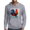 ROOSTER  DOODLE DO Mens Hoodie