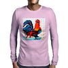 ROOSTER  DOODLE DO Mens Long Sleeve T-Shirt