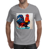 ROOSTER  DOODLE DO Mens T-Shirt