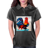 ROOSTER  DOODLE DO Womens Polo
