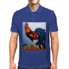 ROOSTER  DOODLE DUM Mens Polo