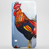 ROOSTER  DOODLE DUM Phone Case