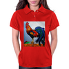 ROOSTER  DOODLE DUM Womens Polo