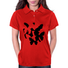 Rorschach Butterflies Womens Polo