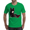 Rory Mercury in Panty and Stocking Style Mens T-Shirt