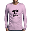 Rose All Day Mens Long Sleeve T-Shirt