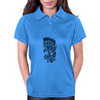Rose in flames Womens Polo