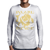 Rose Mens Long Sleeve T-Shirt