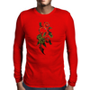 Rose Vine Mens Long Sleeve T-Shirt
