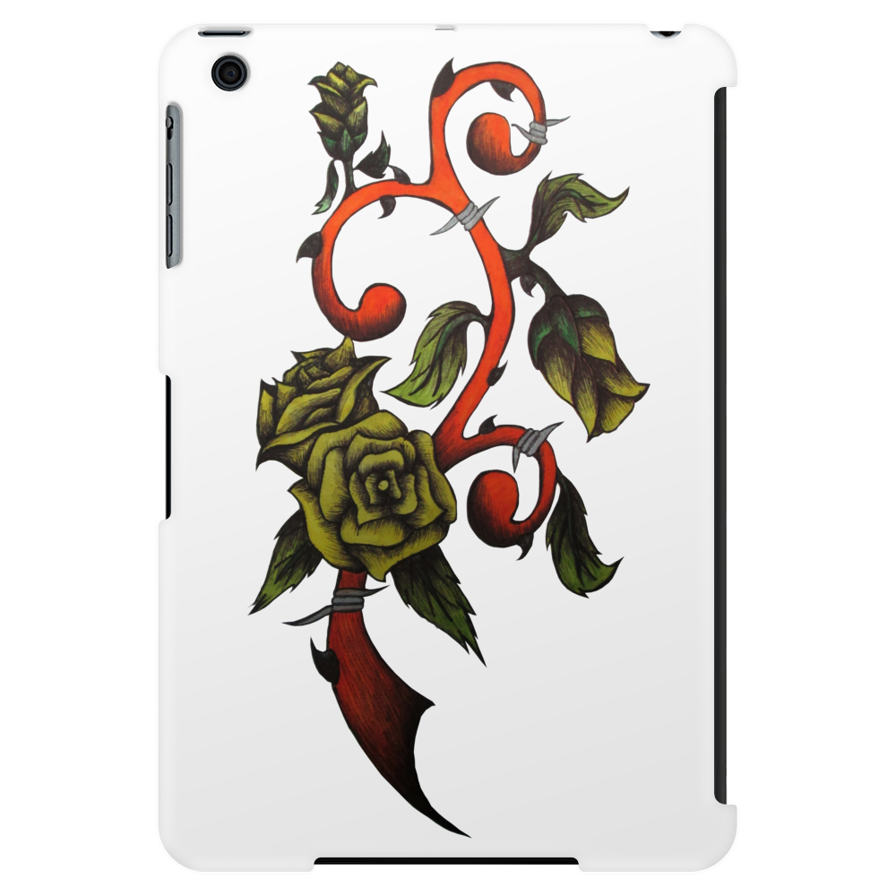 Rose Vine Tablet (vertical)