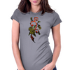 Rose Vine Womens Fitted T-Shirt