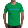 Rotating Whale Mens T-Shirt