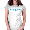 Rotating Whale Womens Fitted T-Shirt