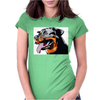 Rottweiler Womens Fitted T-Shirt