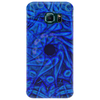 round blue Phone Case