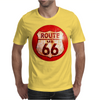 Route 66 Sign Distressed, Ideal Birthday Gift or Present Mens T-Shirt