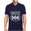 ROUTE 666 Mens Polo