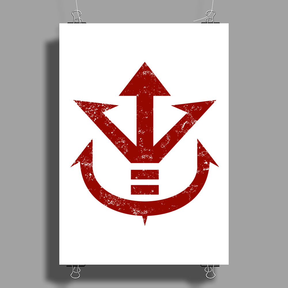 Royal Crest Poster Print (Portrait)