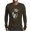Royal Skull Mens Long Sleeve T-Shirt