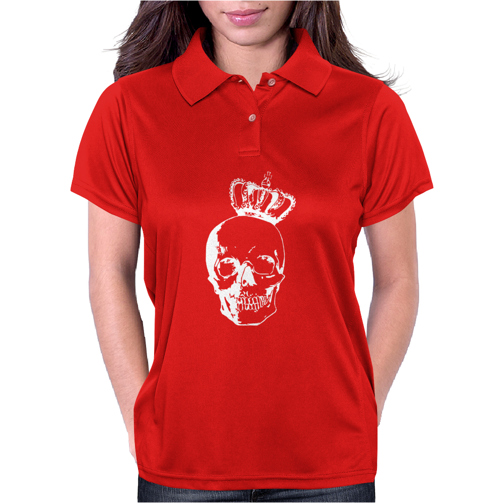 Royal Skull Womens Polo