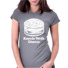 Royale With Cheese Womens Fitted T-Shirt