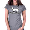 Rub My Weiner For Good Luck Womens Fitted T-Shirt