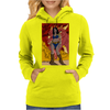 Rubenette and The Dragon Womens Hoodie