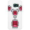 Ruby and Diamond Necklace Phone Case