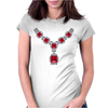 Ruby and Diamond Necklace Womens Fitted T-Shirt