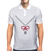 Ruby Bow Necklace Mens Polo