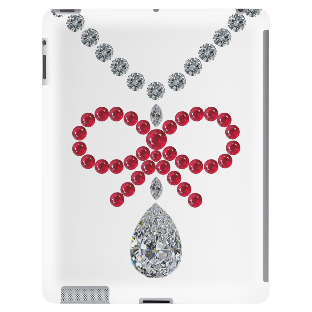 Ruby Bow Necklace Tablet