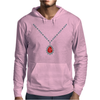 Ruby Pendant Necklace Mens Hoodie