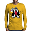 Rude Cat Mens Long Sleeve T-Shirt
