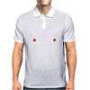 Rude Christmas Pudding Mens Polo