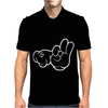 Rude Hands, Ideal Gift or Birthday Present. Mens Polo