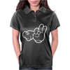 Rude Hands, Ideal Gift or Birthday Present. Womens Polo