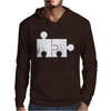 Rude Jigsaw Ideal Birthday Present or Gift Mens Hoodie