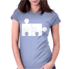 Rude Jigsaw Ideal Birthday Present or Gift Womens Fitted T-Shirt