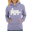 Rude Jigsaw Ideal Birthday Present or Gift Womens Hoodie