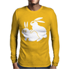 Rude, Rabbits Humping,Funny Mens Long Sleeve T-Shirt