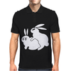 Rude, Rabbits Humping,Funny Mens Polo