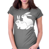 Rude, Rabbits Humping,Funny Womens Fitted T-Shirt