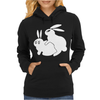 Rude, Rabbits Humping,Funny Womens Hoodie