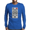 Rude Remote Control, Ideal Funny Birthday Gift Or Present Mens Long Sleeve T-Shirt