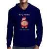 Rude Santa Father Christmas Mens Hoodie